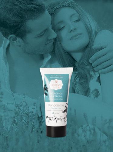 Molke-Handcreme Aktivierende Waldfrische von Sidefyn Cosmetics