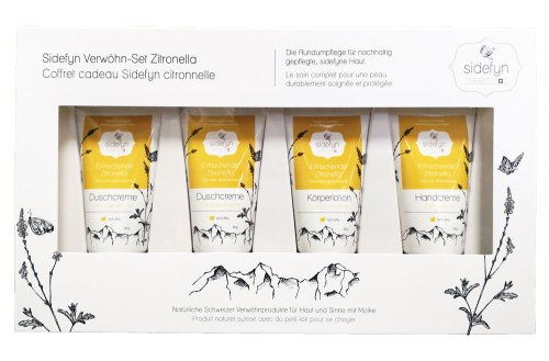 Geschenkset Sidefyn Verwöhn-Set Zitronella