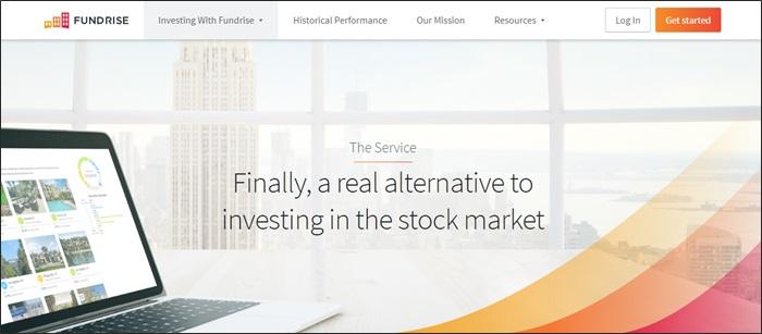 homepage della raccolta fondi