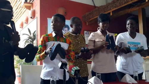 Toms gives to Abraham Attah from Ghana - Successful marketing case study