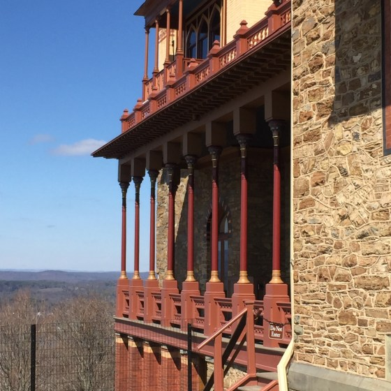 Hudson River Painter Frederic Church's home: Olana