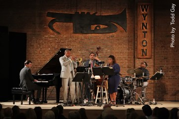 Wynton Marsalis performs in Pine Plains NY
