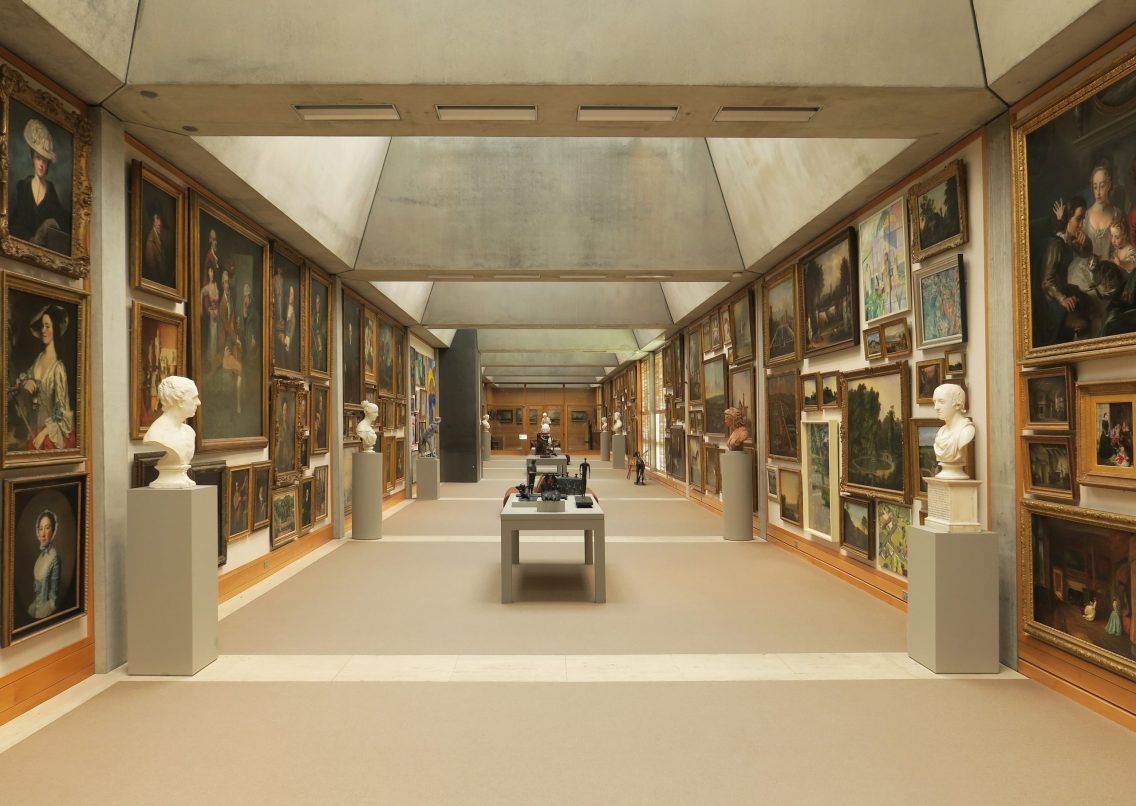 British Art Museum 3 at Yale by Paul Clemence