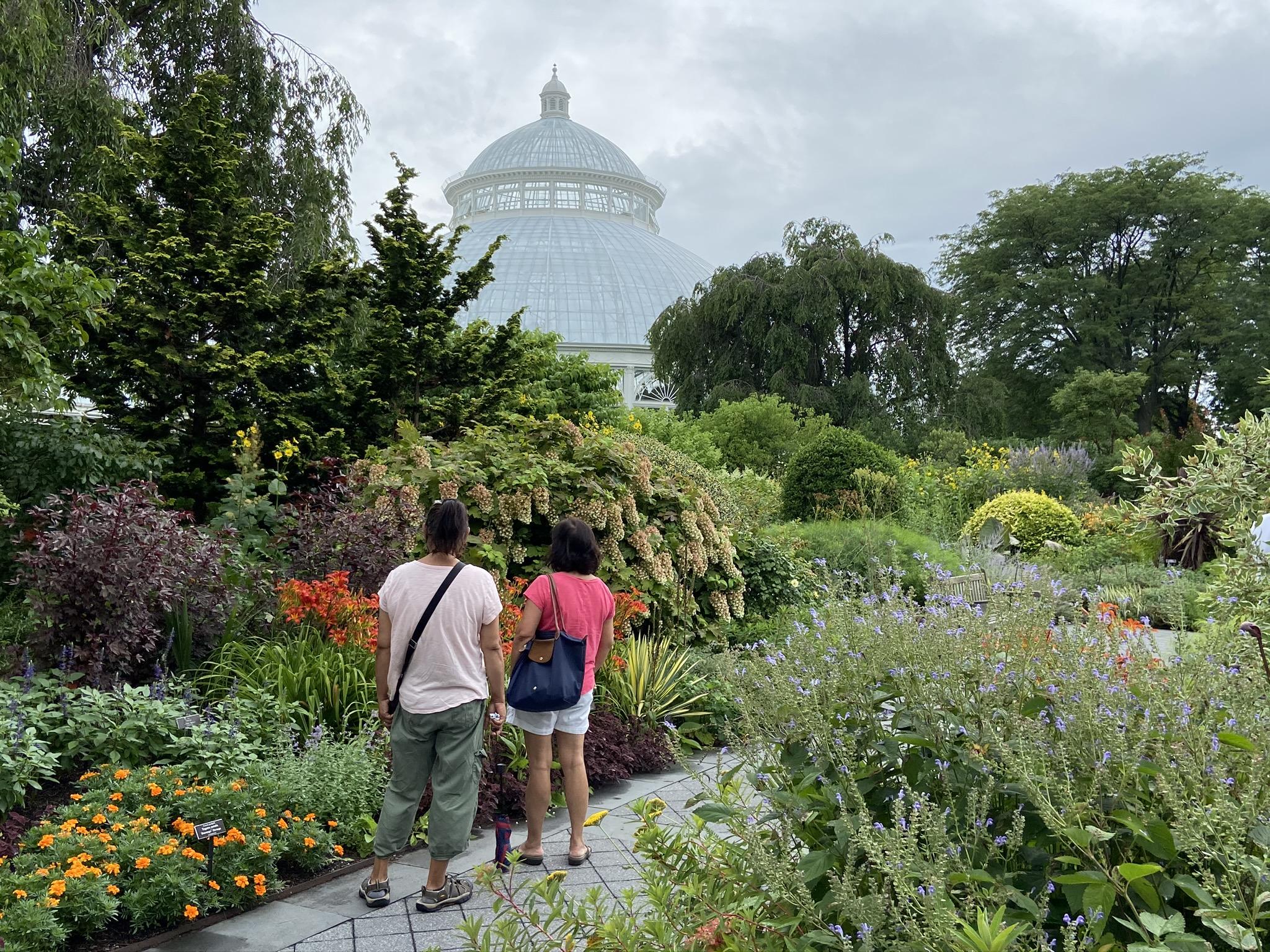 Perennial Garden by Conservatory
