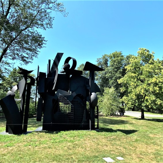 City on the High Mountain by Louise Nevelson, Meadows
