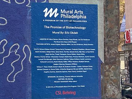 mural label