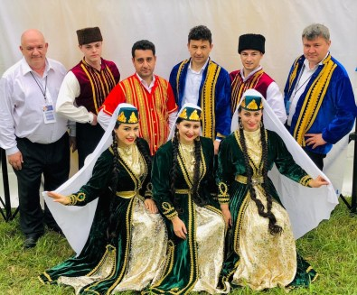 New York Crimean Tatar Ensemble at the 2018 Richmond Folk Festival, Courtesy of Nariman Asinov