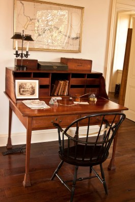 Accounting desk in the 1837 office