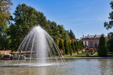 Nemours Mansion fountain