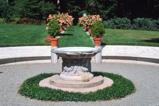 Chesterwood gardens fountain