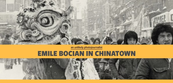 """MOCA and the Center for Jewish History created the online exhibit """"Emile Bocian in Chinatown: An Unlikely Photojournalist"""" to explore this Jewish photographer's pictures of Chinatown during a transitional period in the 1970s and 1980s."""