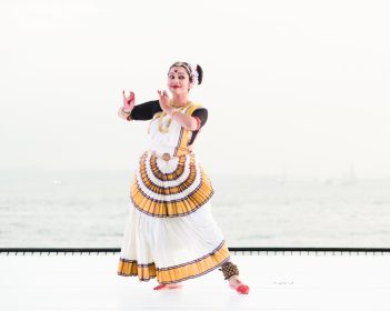 Sruthi Mohan, Erasing Borders Festival of Indian Dance as part of the Battery Dance Festival, Photo by Darial Sneed