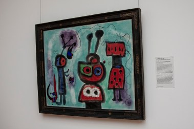 Bird with a Serene Gaze with its Wings Aflame, Joan Miro. Stuttgart State Museum