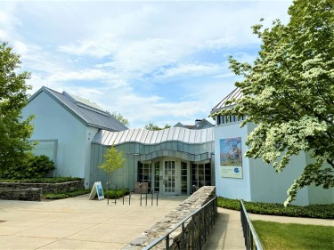 The Krieble Gallery, opened in 2002, contains airy, modern galleries used for changing exhibitions.