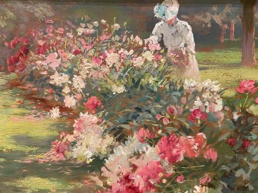 In 2013 the Florence Griswold Museum purchased Matilda Browne's Peonies, a masterful Impressionist work from 1907 that quickly became a visitor favorite.
