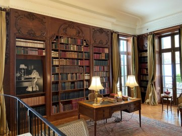 The 2,700 volumes in the Library at The Mount were Edith Wharton's personal collection. She loved books from an early age.