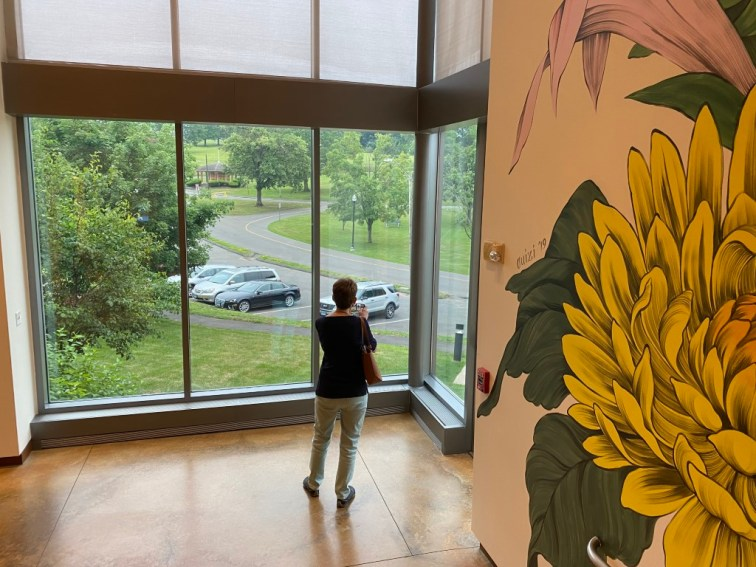 Designed by Frederick Law Olmsted, spacious Walnut Hill Park is right across the street from the NBMAA, and some galleries have lovely views. It's worth exploring too