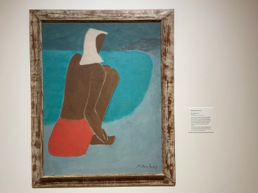Milton Avery grew up near Hartford; his oil painting March on Beach was completed in 1947.