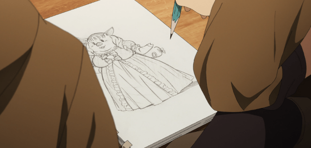 86 drawing a pig