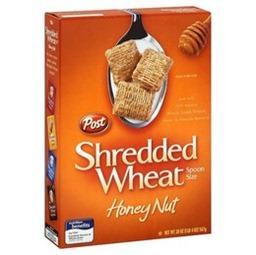 honey nut shredded wheat