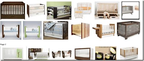modern crib choices
