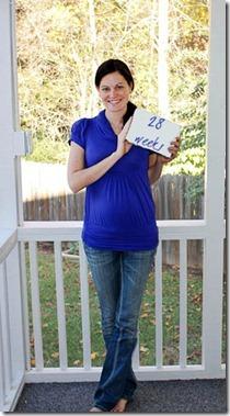 28 weeeks pregnant