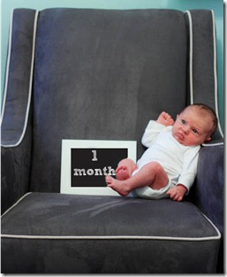 1-month old baby