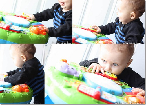activity table for baby