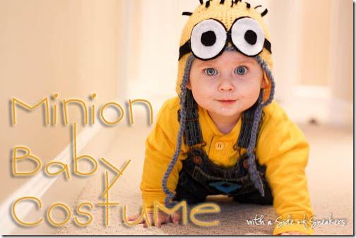 minion baby costume