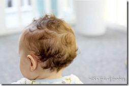 baby boy curls