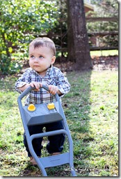 toddler lawnmower