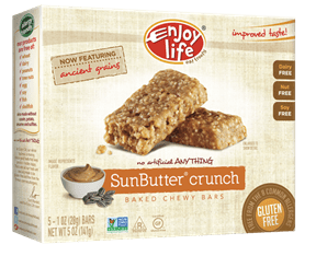 enjoy life sunbutter granola bars