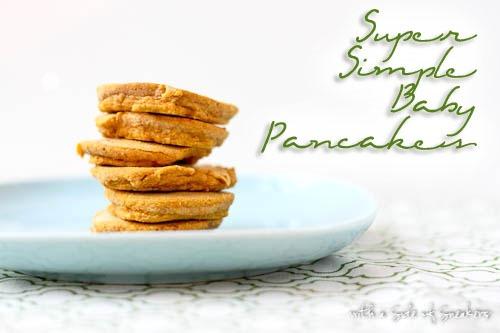 2 ingredient baby pancakes