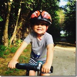 preschool bike riding