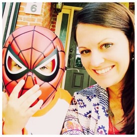 mom and spidey