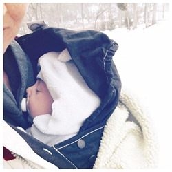 babywearing ergo winter