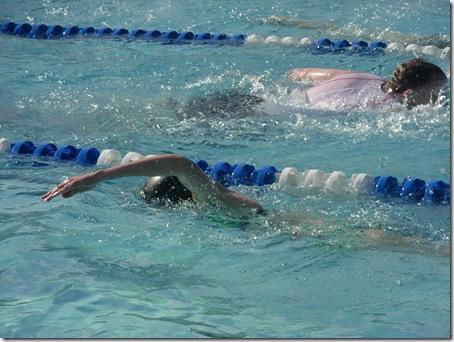 swimming in triathlon