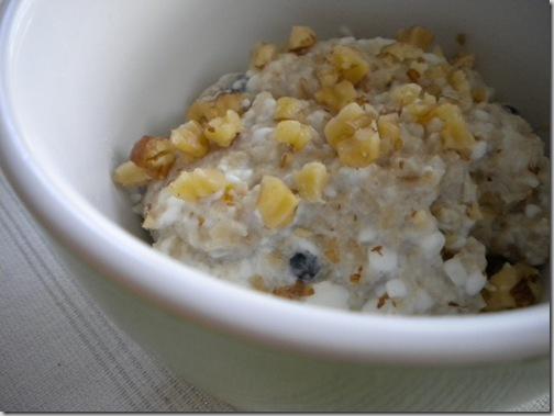 blueberry oatmeal