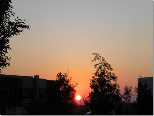 bike ride sunrise