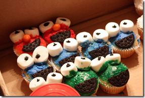 sesame cupcakes