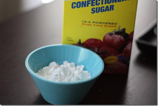 powdered sugar icing
