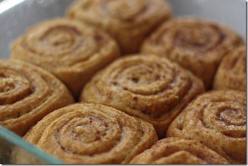 cooling cinnamon buns