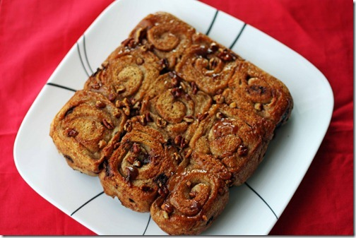 vegan sticky buns recipe
