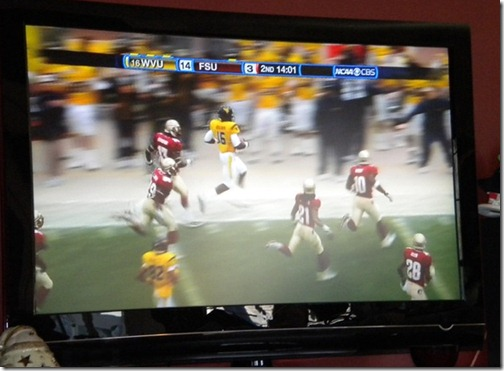 football game on tv