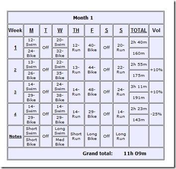 beginner triathlete  bike focused training plan