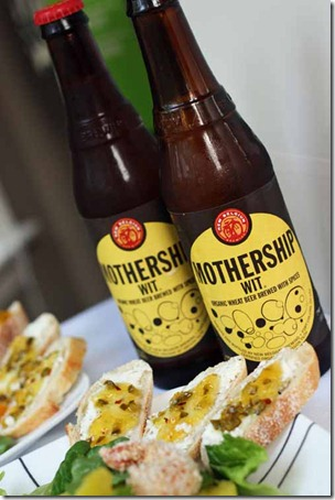 mothership wit wheat beer