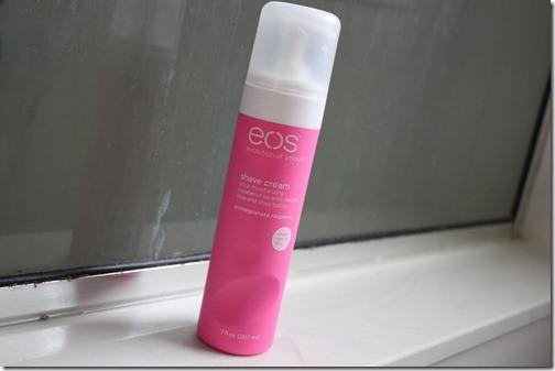 eos shaving cream