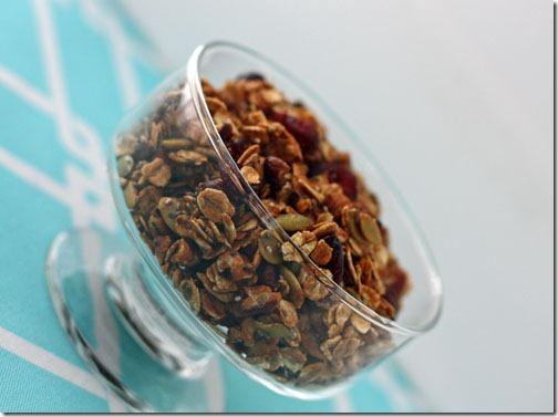 pumpkin seed granola recipe