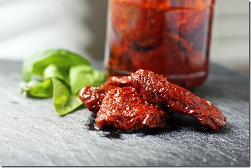 sundried tomatoes and basil