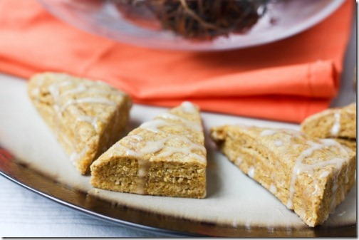 pumpkin scones made vegan